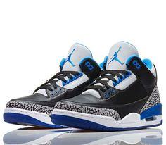 Air Jordan III Sport Blue