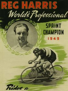 Reg Harris - 1949.  Mainly a track guy but not too shabby on the road either.