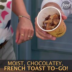 For breakfast on the go, try Jeff's French Toast in a Mug. Your favorite breakfast sweet made quick and easy!