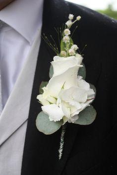 Flower Design Events: White Peonies for Karen & Tims Stylish St Leonards & Samlesbury Hall Wedding Day