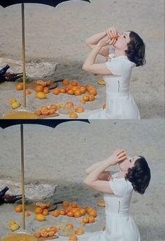 "supermodelgif: "" Fruit of Paradise (1970) dir: Vera Chytilová """