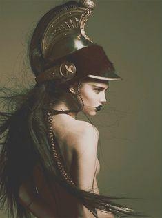 noveltymakesalchemy:  My Warrior Princess.