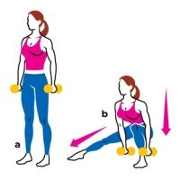 Leg Exercises: Build Slim, Sexy Stems.    Tone your legs and thighs with interval strength-training moves