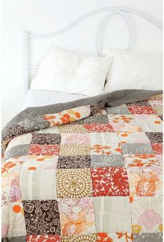 lovely simple quilt