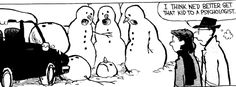 calvin snowman cartoons - Google Search