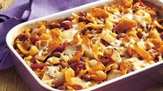 Fill up on an easy meatless casserole that's in the oven in minutes.