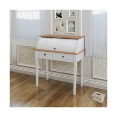 Bureau secrtaire blanc L 82 cm Secrtaire Maison du monde et