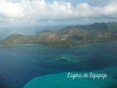 El mar de los siete colores rodea la isla de #Providencia