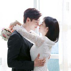 "Jung Jae Chan (Lee Jong Suk) & Nam Hong Joo (Suzy) en ""While You Were Sleeping"""