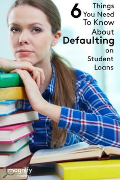 Here are six important considerations that you need to know about defaulting on student loans if this applies to you. http://www.magnifymoney.com/blog/college-students-and-recent-grads/6-things-you-need-to-know-about-defaulting-on-student-loans42817859