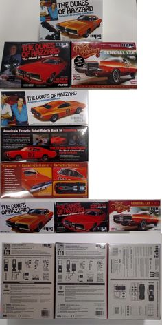 Hot Rod 2582: Mpc706l - Mpc754 - Mpc817 Dukes Of Hazzard 3 Car Lot 1 25 Scale Model Kits -> BUY IT NOW ONLY: $48.5 on eBay!