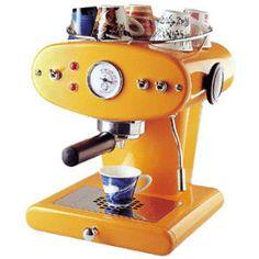 Francis Francis X1 - Orange > Espresso Machines