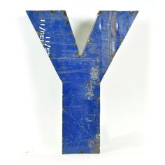 Drum Metal Letter Y  by Watson & Co.