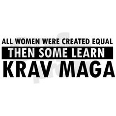 Krav Maga...ask about this in class next week. Want to do this in addition to SD so bad!