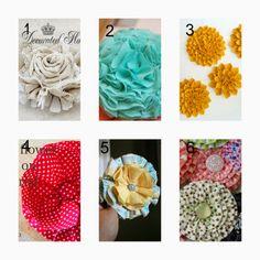 donneinpink- risparmiare col fai da te: Tutorial- Come fare fiori di stoffa- La moda fai d...