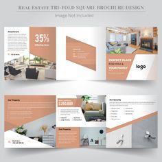 Interior design logo vectors, photos and psd files Brochure Indesign, Template Brochure, Brochure Layout, Brochure Ideas, Psd Templates, Flyer Template, Booklet Design Layout, Graphic Design Brochure, Leaflet Design