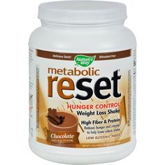 Nature's Way Metabolic ReSet Shake Mix Chocolate -- 1.4 lbs -- See this awesome image  : Weight loss Supplements