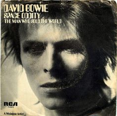 David Bowie - space oddity / the man who sold the world,1972 US reissue
