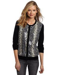 Jones New York Women's Cardigan Sweater Jones New York. $53.65. Cardigan. Sequins. Made in China. 60% Cotton/30% Rayon/10% Wool. Hand Wash