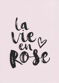 Quotes About Fashion Image Description La Vie En Rose Print French Prints Girls Room Decor Pink Wall Art Typography Print French Quote Art Baby Girl Nursery Wall Art Fashion Print by violetandalfie on Etsy Pink Quotes, Baby Quotes, Quotes On Pink Colour, Quotes About Pink, French Quotes About Life, Quotes In French, Hd Quotes, Quotes Girls, Pink Wall Art