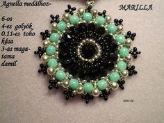 Pattern bijoux: PERLE