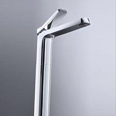 Fantini Waschtischmischer Levante | hohe Ausführung | Rodolfo Dordoni | modernes Design | zwei Oberflächen
