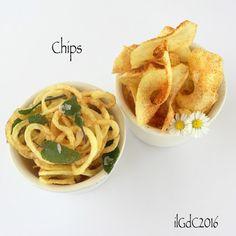 il giardino dei ciliegi: Chips con paprica e salvia croccante