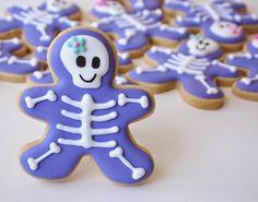 Dulce arteonline: Cookies esqueleto