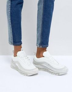 new product a0bc9 bb4bc Nike - Air Max 97 Ultra  17 - Baskets - Blanc poudre perlé