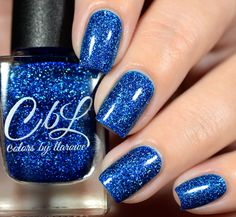 CbL The Journey Collection 2016 - Healing Waters is a bright blue jelly base…