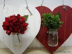 15 Great Valentine's Day Crafts #valentinesday #valentinescrafts #valentinesdayideas #diy #diyideas