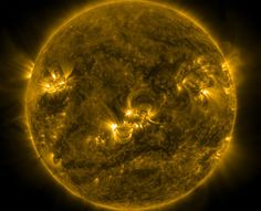 THE UNIVERSE: NASA Captures Solstice Solar Portrait #Sun #Tan #Laundry