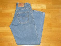 Levis 560 Mens Blue Jeans 29X30 Loose Tapered #Levis #LooseTapered