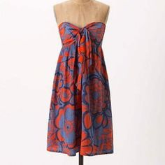 Hd In Paris Strapless Dress With Detachable Straps