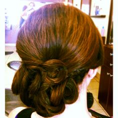 My updo. If you repin please do not remove my signature> ( #MarianScissors @Marian_Scissors on instagram)