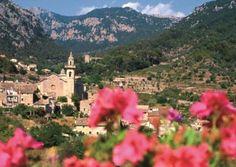 Bohatá španělská vegetace