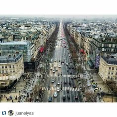 #Repost @juanelyas with @repostapp  Follow back for travel inspiration and tag your post with #talestreet to get featured.  Join our community of travelers and share your travel experiences with fellow travelers atHttp://talestreet.com The center of it all. On your left you can see the Embassy of Qatar on a prime location in Champs Elysees.  #arc #champselysees #paris #france #arcdetriomphe #travel #tourdefrance #eiffeltower #europe #parisjetaime #toureiffel #parisbynight #architecture…
