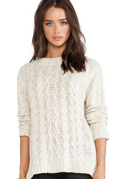 London Cable Knit Sweater Kingsley | Spot it Pop it