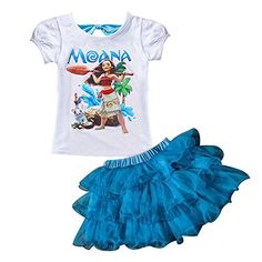 5e8444ab6fb LZH 2017 Summer Girls Clothes Moana T-shirt+Skirt Outfit Christmas Costume  Kids Sport Suit For Girls Children Clothing Sets - Kid Shop Global - Kids    Baby ...