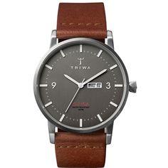 Triwa Klinga  Ultradun horloge met dag-datum