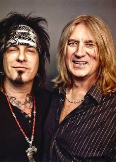 Nikki Sixx & Joe Elliott