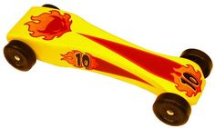 Faster Pinewood Derby Car
