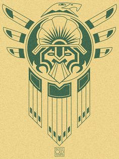 Inca Bird Tattoo by ~Rustyoldtown on deviantART