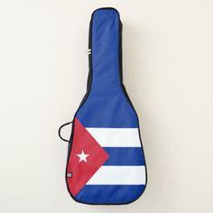 Cuba Flag Guitar Case - customizable diy