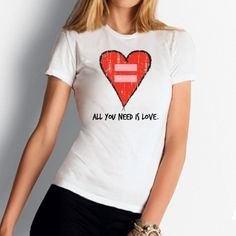 Gay Marriage All You Need is Love T-Shirt