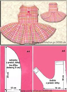 Yorkie Clothes, Pet Clothes, Dog Clothing, Dog Coat Pattern, Pattern Dress, Dog Clothes Patterns, Coat Patterns, Sewing Patterns, Small Dog Clothes