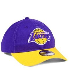 e93e09ec3a2 New Era Los Angeles Lakers 2 Tone Shone 9TWENTY Fitted Cap Men - Sports Fan  Shop By Lids - Macy s