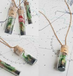 Terrarium Necklace DIY too!