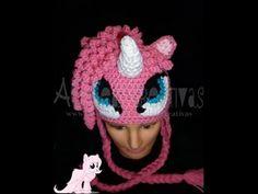 Gorro Tejido My Little Pony Parte 1/ Crochet Hat My Little Pony Part 1