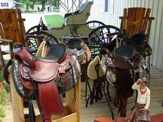 Gaited Trail Horse Saddles and Tack for sale